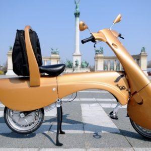 #Video Las scooters del futuro seran electricas y plegables 28