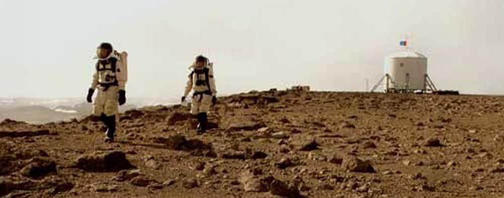 Mira cómo se vería Marte si el hombre llegara a pisar el planeta rojo 16