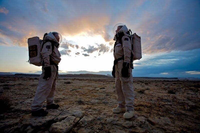 Mira cómo se vería Marte si el hombre llegara a pisar el planeta rojo 2