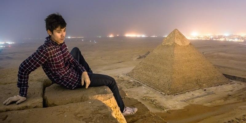 Las fotos prohibidas 🚫 de la pirámide de Keops 😱 18