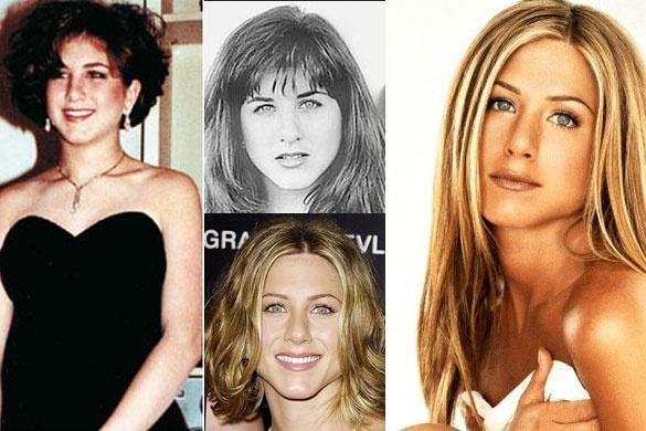 La increíble metamorfosis de Jennifer Aniston 2