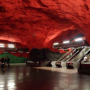 Las Estaciones de Metro más espectaculares de Europa 24