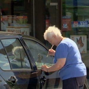 #Video Abuela roba un coche 3