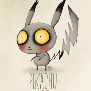 Si Tim Burton diseñase los Pokémon… 26