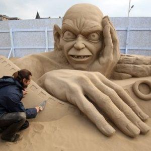 Increíbles esculturas de arena en el Reino Unido 21