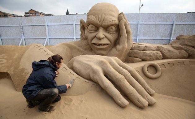 Increíbles esculturas de arena en el Reino Unido 13