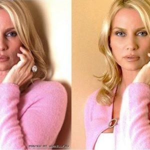 Antes y después: famosas con y sin Photoshop 25