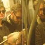 Ganadora del Oscar viajando en metro 9