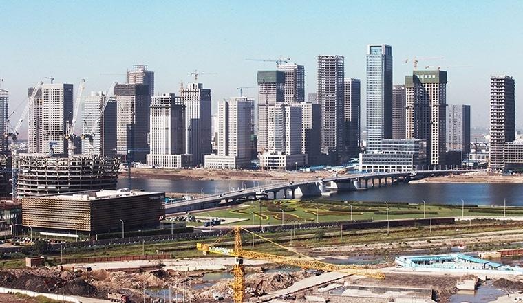 El faraónico proyecto chino de erigir una réplica de Manhattan 2