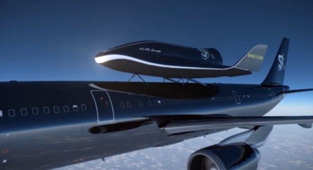 #Video Suecia lanzará un trasbordador espacial desde un avión 11