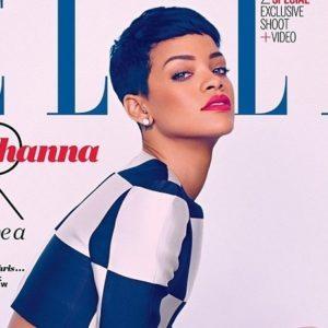 Rihanna explotó toda su sensualidad y belleza para la revista Elle Uk 24