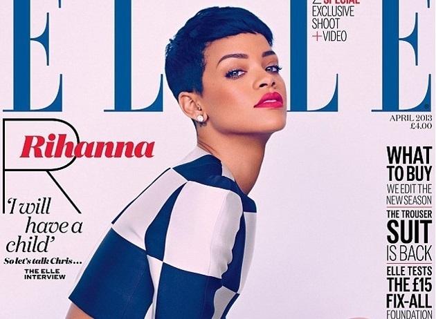 Rihanna explotó toda su sensualidad y belleza para la revista Elle Uk 13