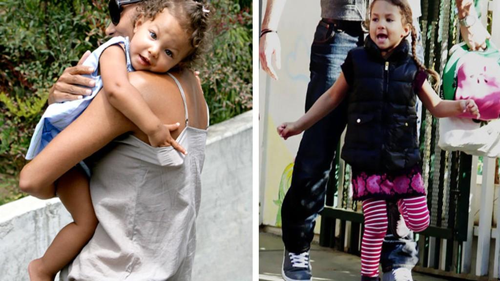 Nahla Aubry como crecen los hijos de los famosos