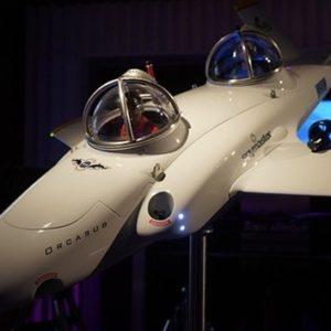 Spymaster Orcasub, un submarino biplaza de dos millones de dólares para 'volar' bajo las aguas 4