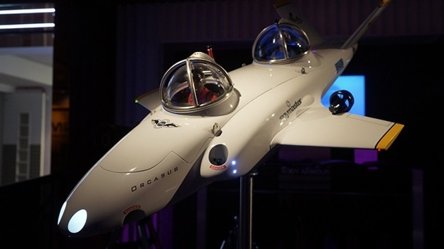 ee16eacb2ab3f2b8582859b8cc34ab8e - Spymaster Orcasub, un submarino biplaza de dos millones de dólares para 'volar' bajo las aguas