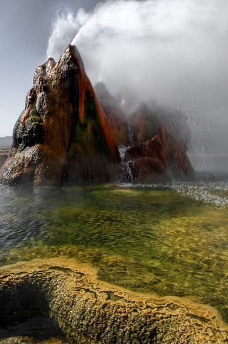 Géiser Fly: Cuando la naturaleza hace maravillas con los errores humanos 17