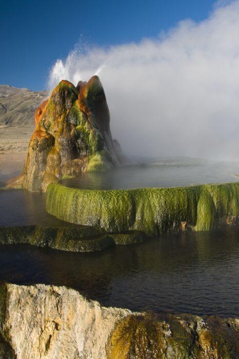 Géiser Fly: Cuando la naturaleza hace maravillas con los errores humanos 20