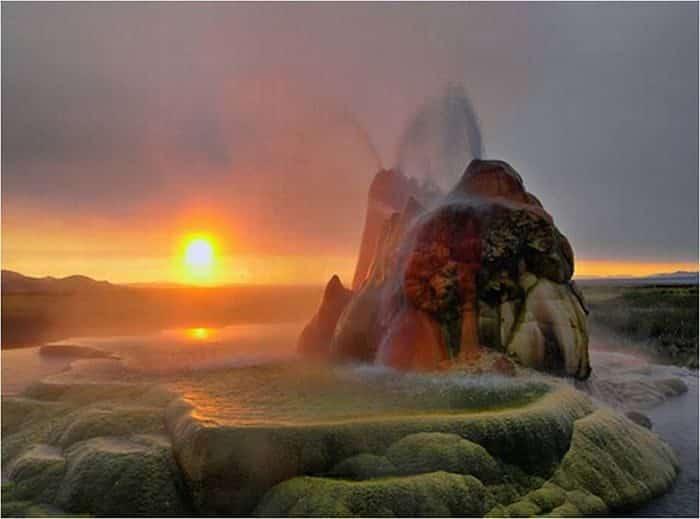 Géiser Fly: Cuando la naturaleza hace maravillas con los errores humanos 24