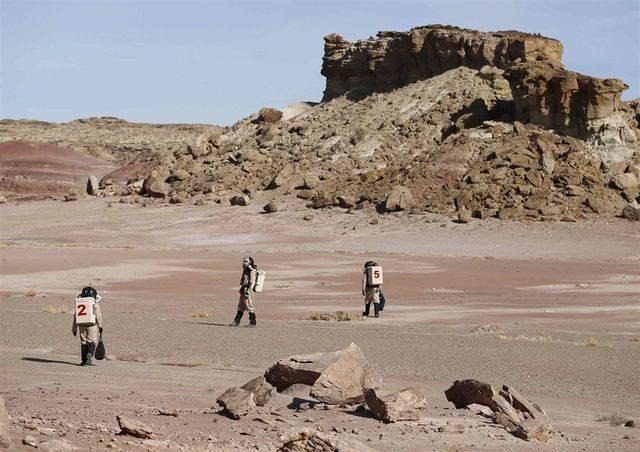 Mira cómo se vería Marte si el hombre llegara a pisar el planeta rojo 22