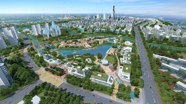 El faraónico proyecto chino de erigir una réplica de Manhattan 18