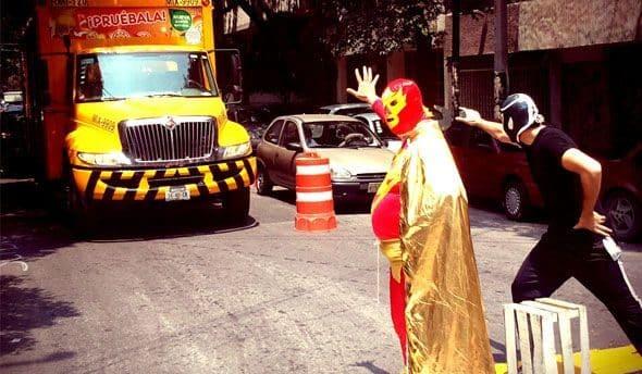 Peatónito, el nuevo superhéroe real que lucha por los derechos de los peatones 17