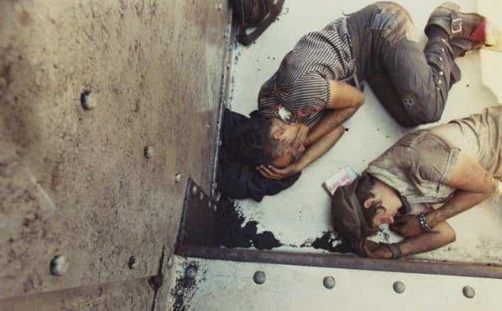 Narra desde dentro la vida de los vagabundos juveniles que viajan como polizones ferroviarios 26