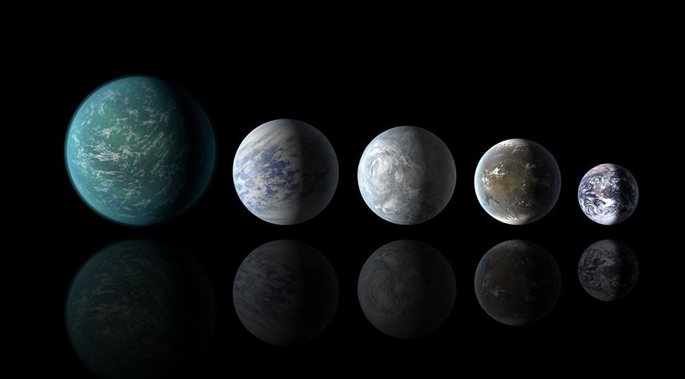 La NASA descubre planetas similares a la Tierra en una zona habitable 10