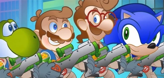 #Video Super Mario Buster 2 vuelven los hermanos cazafantasmas 1