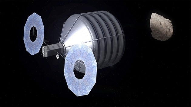 """#Video de la NASA """"Cómo se capturará un asteroide"""" 2"""