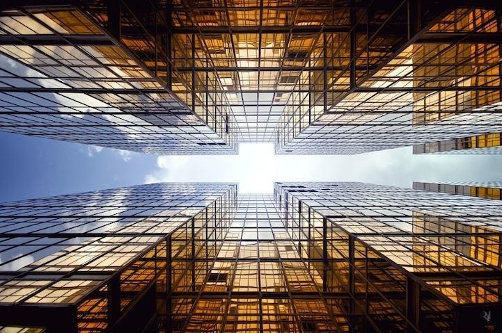 Espectaculares imágenes de edificios en perspectiva vertical 5