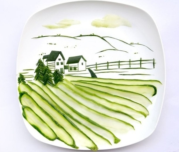 263f3cc125c740b54e297e7713380083 - Hong Yi y sus obras de arte con comida