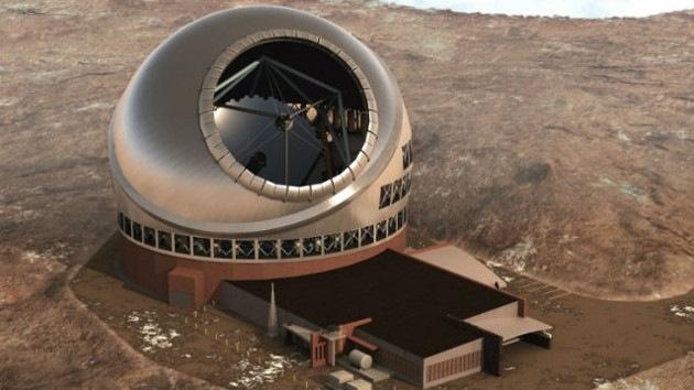 Construyen el mayor telescopio del mundo en un volcán hawaiano 2