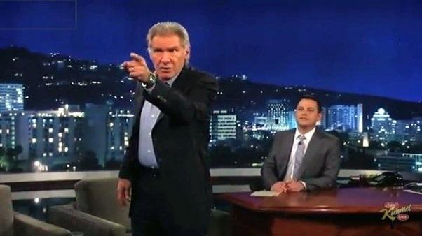 """Harrison Ford, """"furioso"""" en televisión 1"""