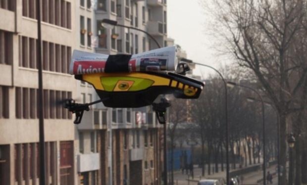 Correos de Francia y Parrot desarrollan robot repartidor de periódicos 10