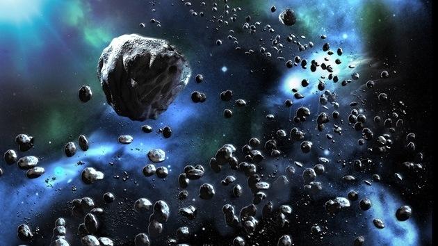 La Tierra podría tener una capa protectora de asteroides 11