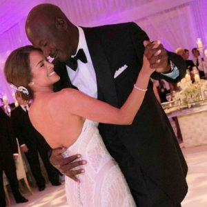 Michael Jordan se casó con la modelo cubana Yvette Prieto 24