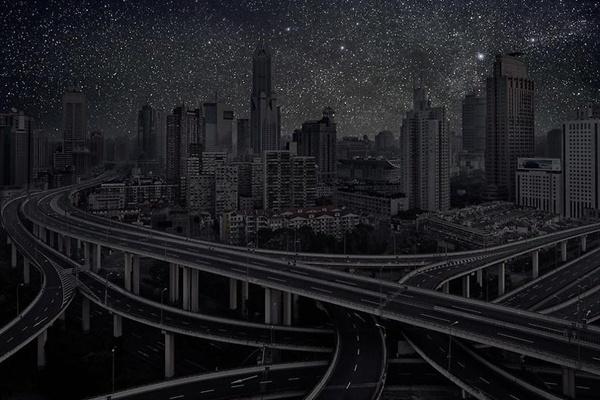 Principales ciudades del mundo completamente oscuras 11
