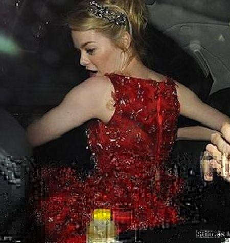 Emma Stone 02 - Celebrities en el momento justo