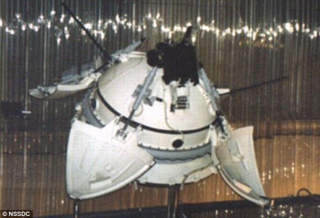NASA muestra fotos del lugar de Marte donde habría caído nave soviética en el 71 11