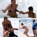 Fotos impactantes: Heidi Klum salva a su hijo y a dos niñeras de morir ahogados en Hawai 9