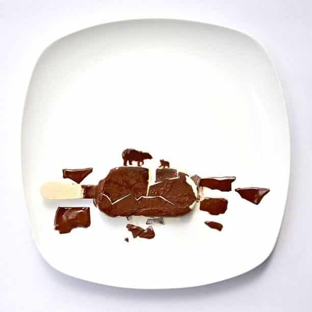 Hong Yi y sus obras de arte con comida 60