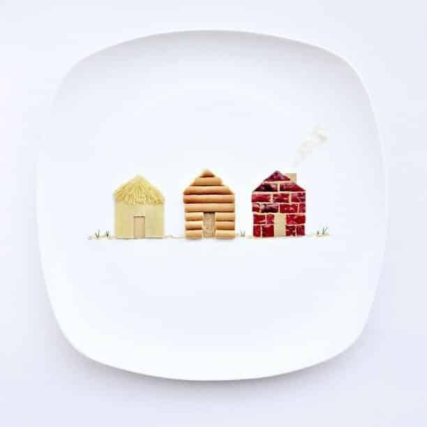 Hong Yi y sus obras de arte con comida 61