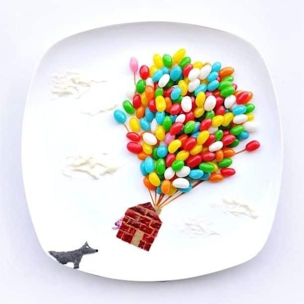 Hong Yi y sus obras de arte con comida 62