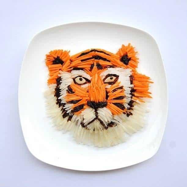 Hong Yi y sus obras de arte con comida 64