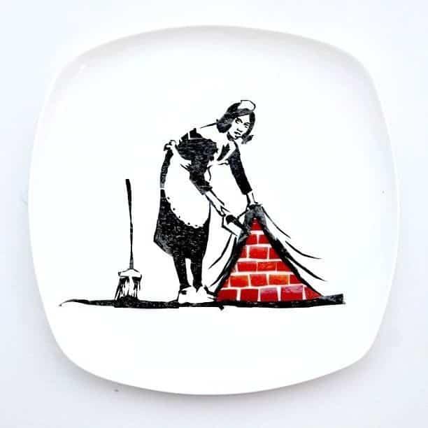 Hong Yi y sus obras de arte con comida 66