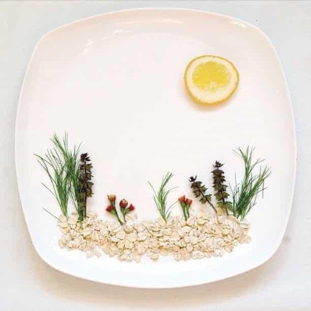 Hong Yi y sus obras de arte con comida 67