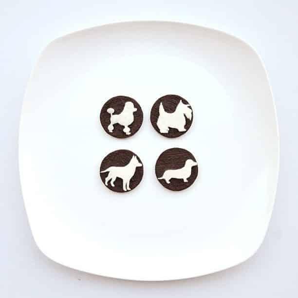 Hong Yi y sus obras de arte con comida 69