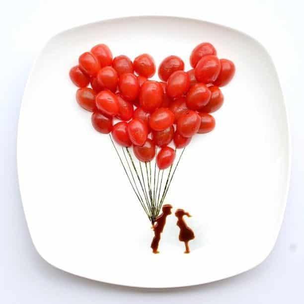 Hong Yi y sus obras de arte con comida 70