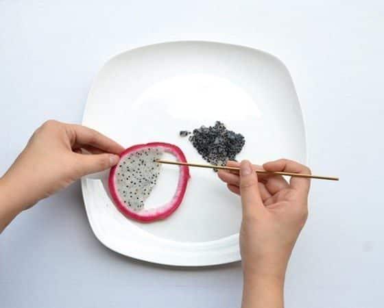 Hong Yi y sus obras de arte con comida 75