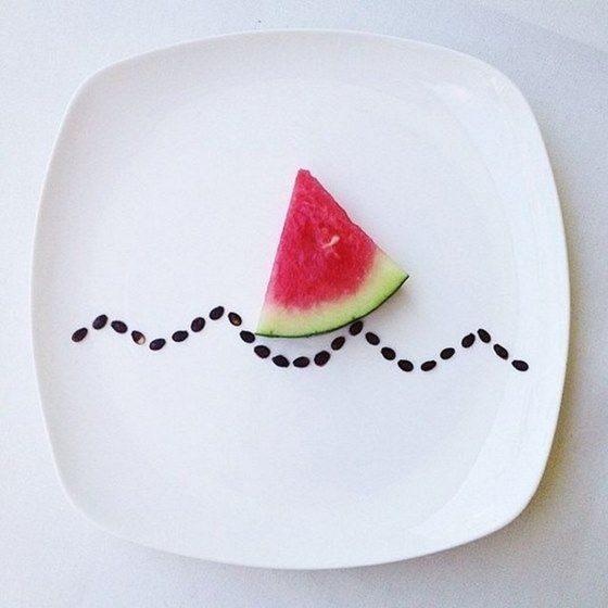 Hong Yi y sus obras de arte con comida 71